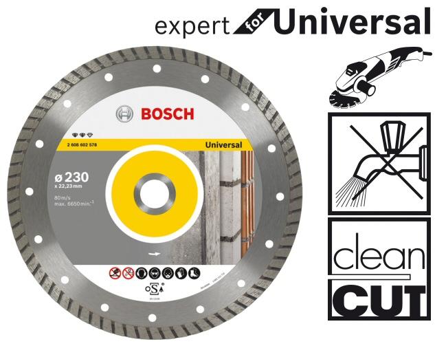 Bosch Trennscheiben Expert For Universal Fur Alle