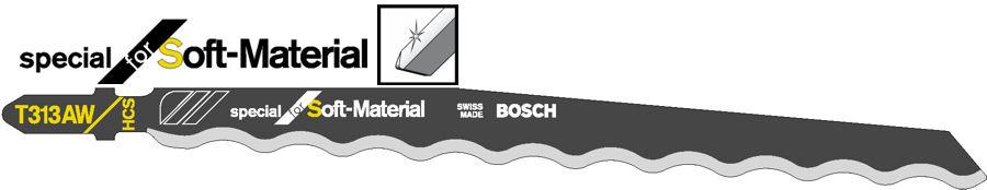 Bosch Stichsägeblatt T 313