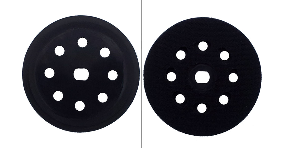 black decker schleifteller 125mm f r excenterschleifer. Black Bedroom Furniture Sets. Home Design Ideas