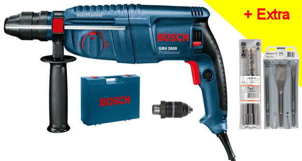 bosch bohrhammer gbh 2600 professional. Black Bedroom Furniture Sets. Home Design Ideas