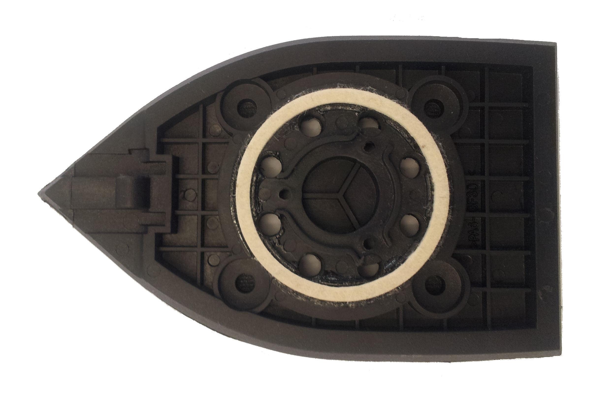 ryobi ersatz deltaschleifplatte für multischleifer ems 180 rv