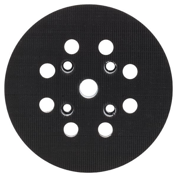 bosch ersatzschleifplatte f r exzenterschleifer 125 mm. Black Bedroom Furniture Sets. Home Design Ideas
